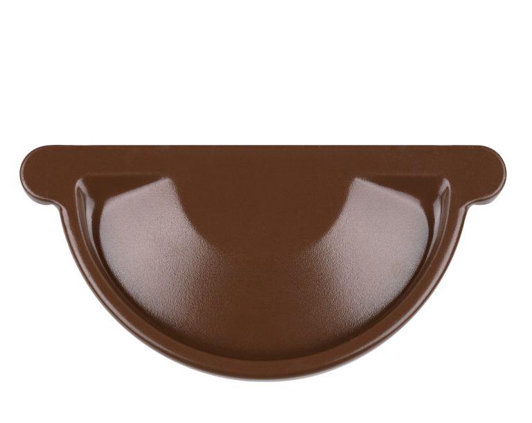 Заглушка коричнева 150/100