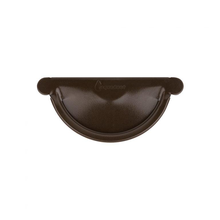 Заглушка темно-коричнева 150/100