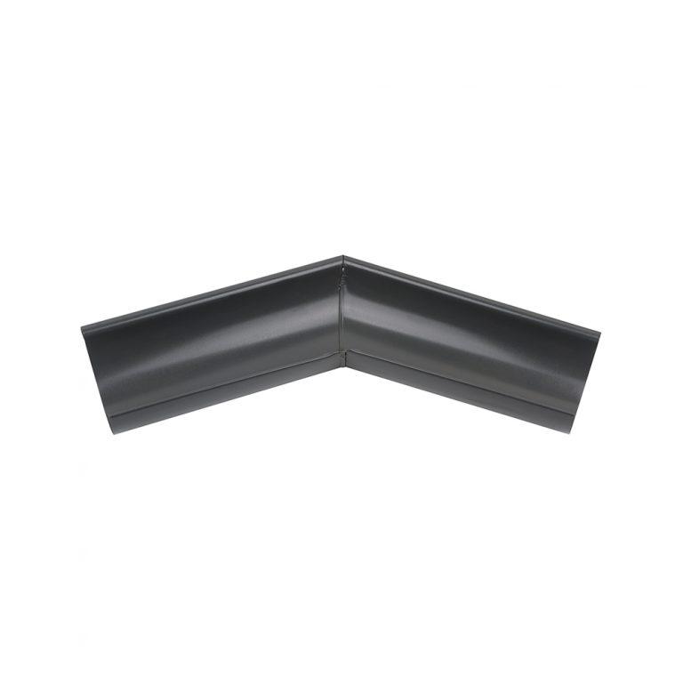 Внешний угол желоба 135° графитовый 125/87