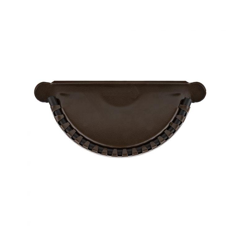 Заглушка темно-коричнева 125/87 – Фото 2